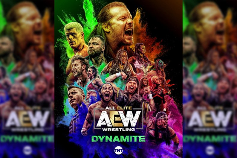 all elite wrestling aew dynamite tnt