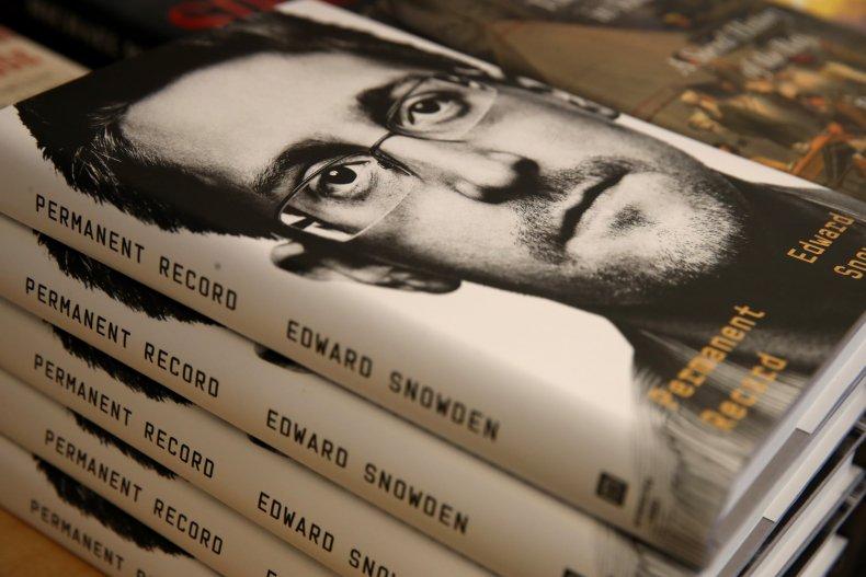 Edward Snowden book