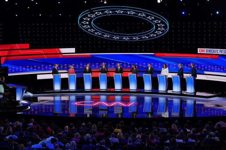 democratic debate bill de blasio 2020 race