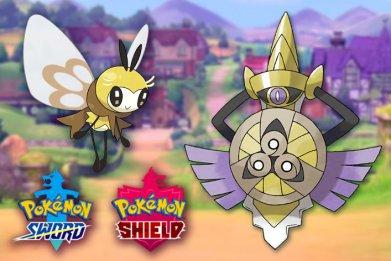 pokemon sword shield ribombee aegislash