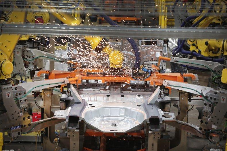robots, car manufacturing