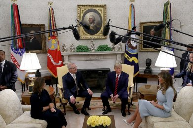 donald trump meets australian pm oval office