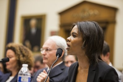 Candace Owens white supremacy congressional hearing
