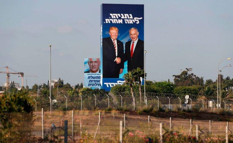 arab israel joint list trump
