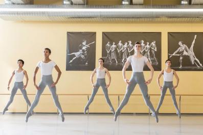 Canada's National Ballet School boys