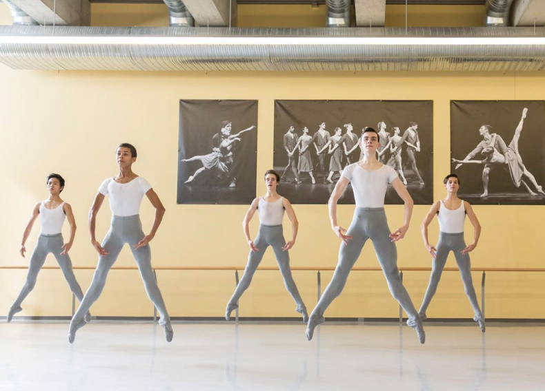 Canada's National Ballet School boys