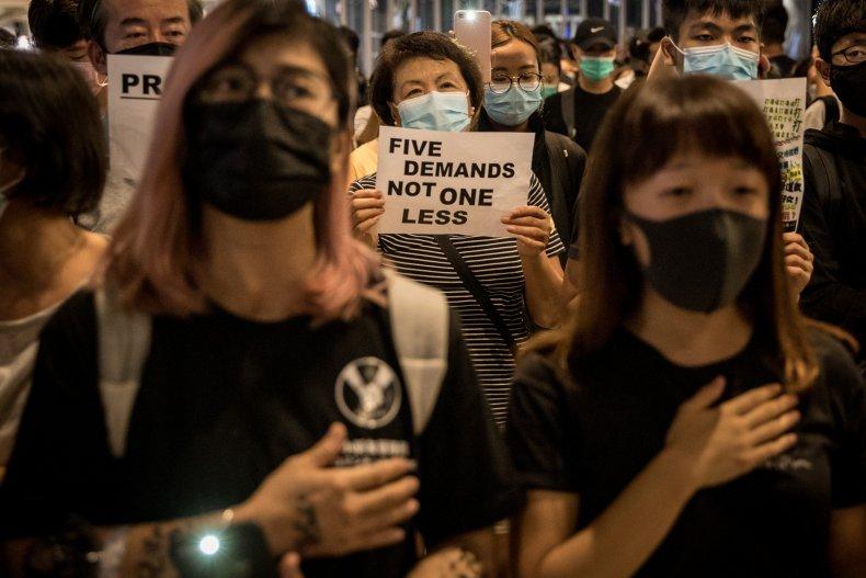 Hong Kong, protesters, demands, China, violence, police