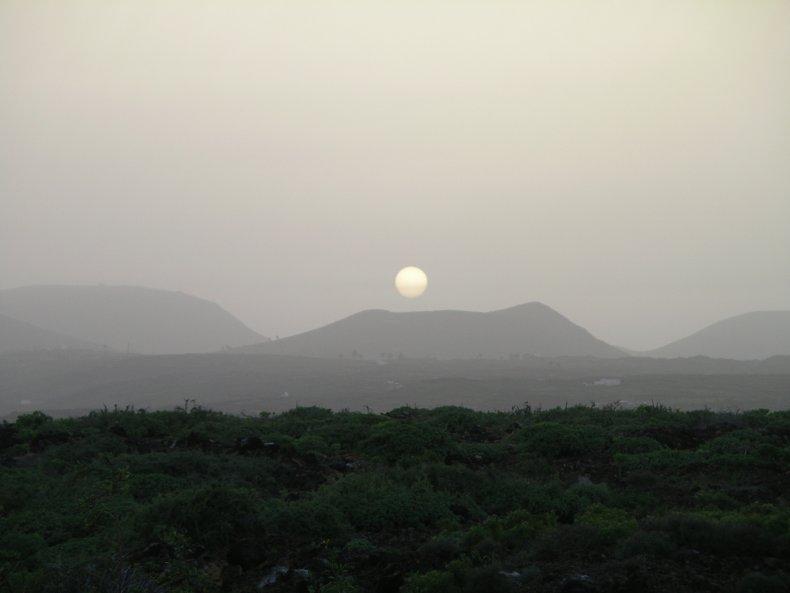 Canary Islands, Saharan dust