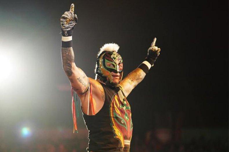 rey mysterio cesaro match wwe monday raw