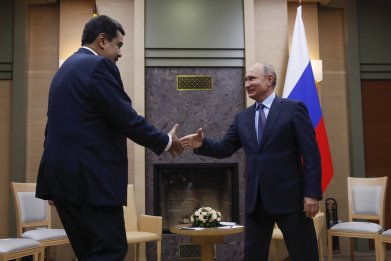 venezuela nicolas maduro russia vladimir putin