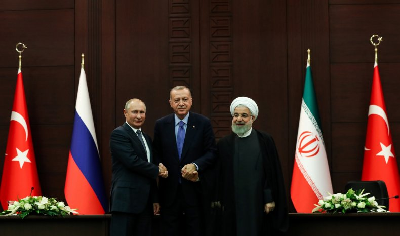 russia putin turkey erdogan iran rouhani syria