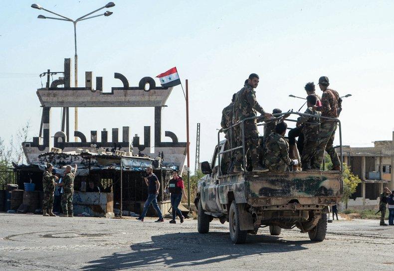 syria army khan sheikhoun idlib