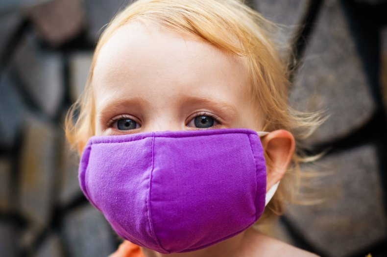 face mask, child, air pollution, stock, getty
