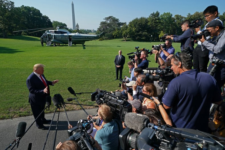Donald Trump, Egypt, press, NYT, reporter, arrest