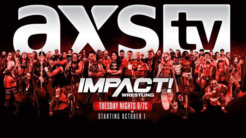 impact wrestling axs tv premiere date