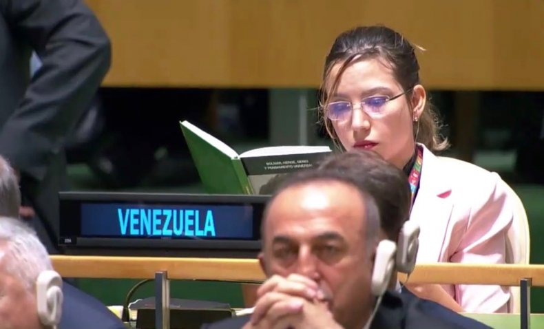 venezuela united nations donald trump book