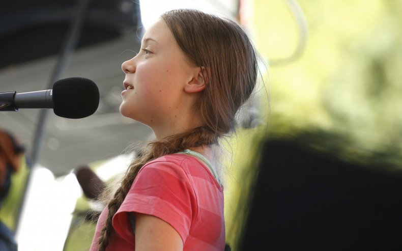 Thunberg Leads Youth Climate Strike