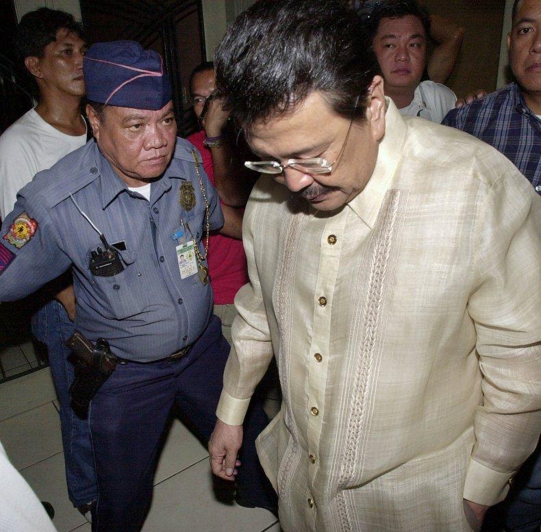 philippines president joseph estrada charges