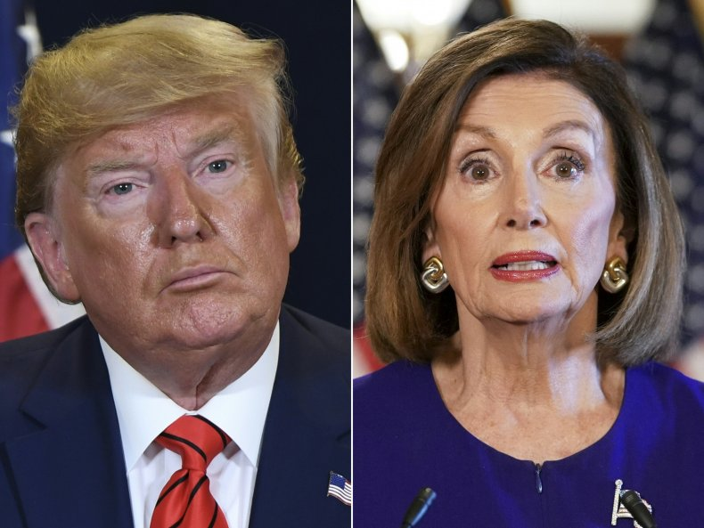 donald trump nancy pelosi impeachment