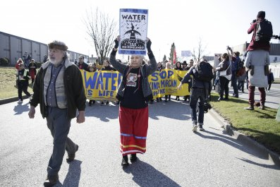 Trans mountain pipeline protest