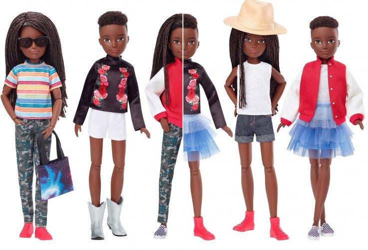 mattel gender-neutral doll