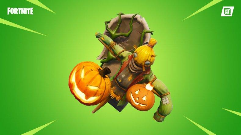 fortnite spooky items