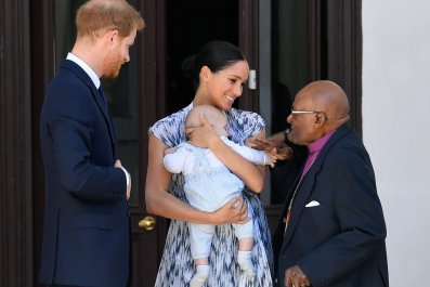 Pictures of Baby Archie's First Royal Meeting in South Africa