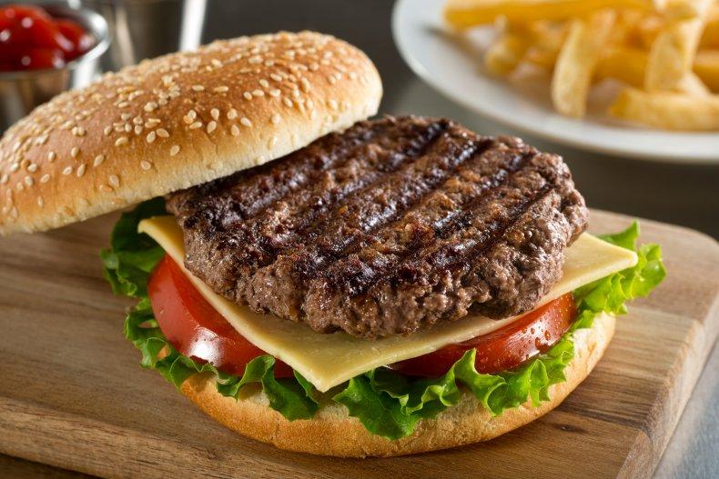beef, angus burger, hamburger, food, stock, getty