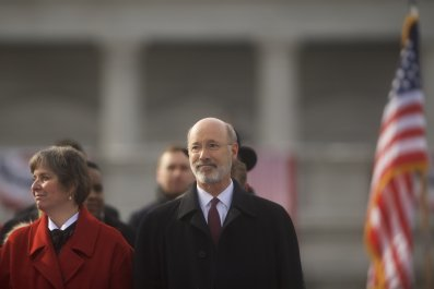 Tom Wolf inauguration ceremony
