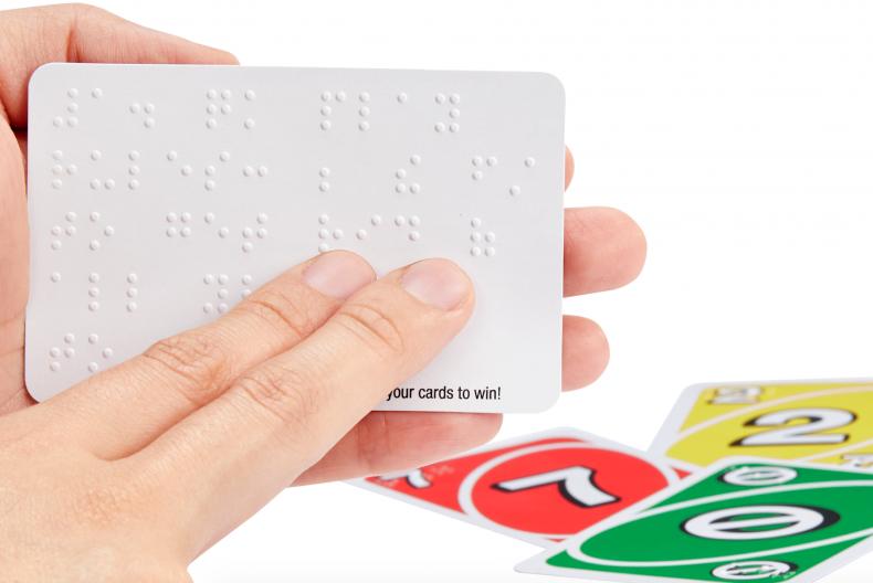 Mattel braille uno