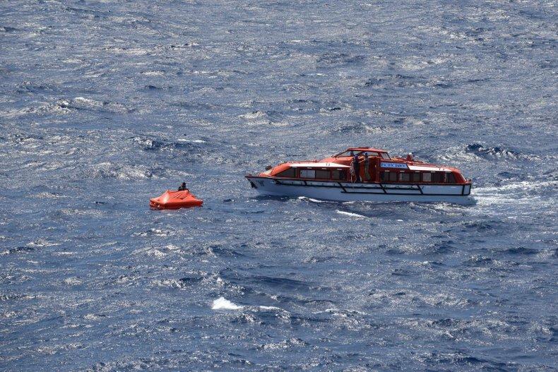 Pacific Dawn, ocean rescue