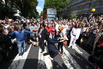 The Beatles Abbey Road Anniversary 50th