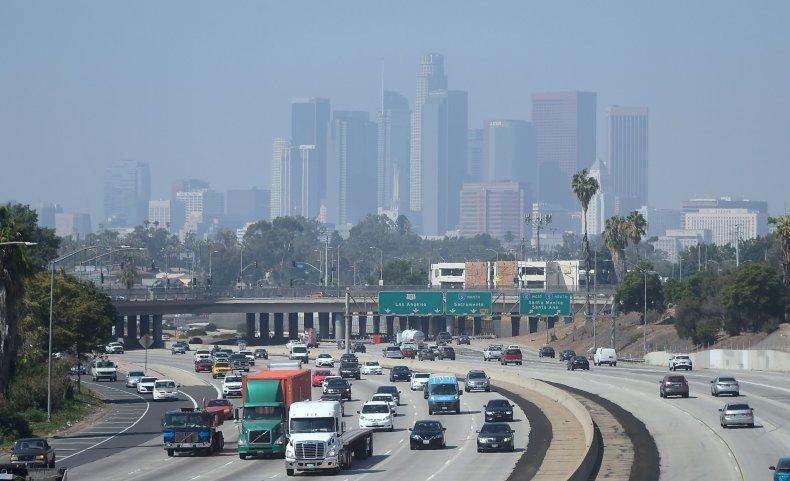 US-ENVIRONMENT-POLLUTION-DOWNTOWN-LA