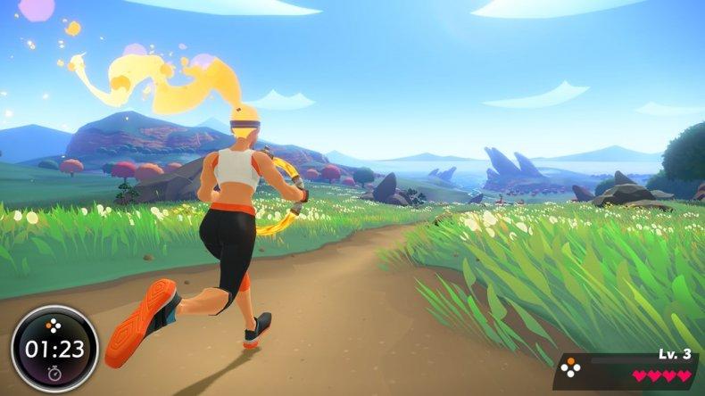 ring fit adventure adventure mode run
