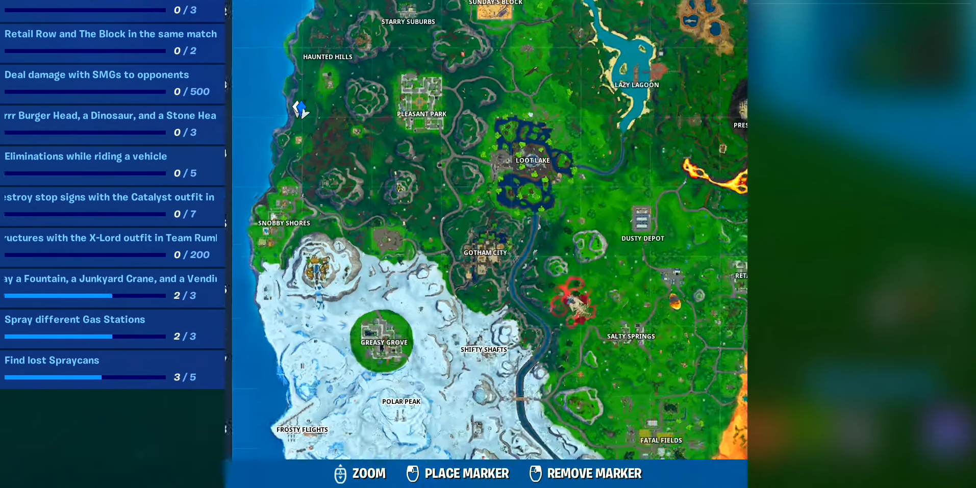 Fortnite Easy Hard Firing Range Target Locations Week 9 Guide