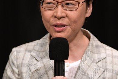 Carrie Lam Hong Kong