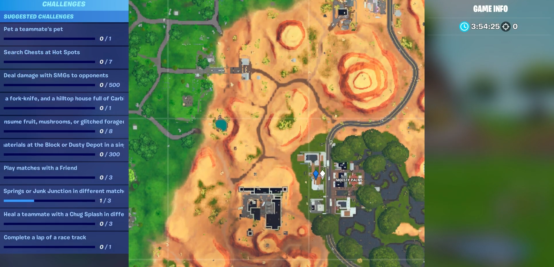 Fortnite Visitor Recording Locations Overtime Guide