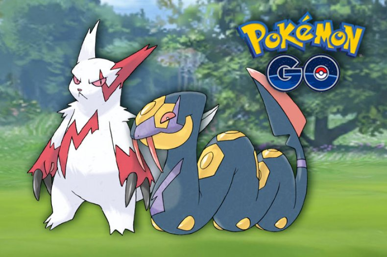 pokemon go zangoose seviper world tourism day