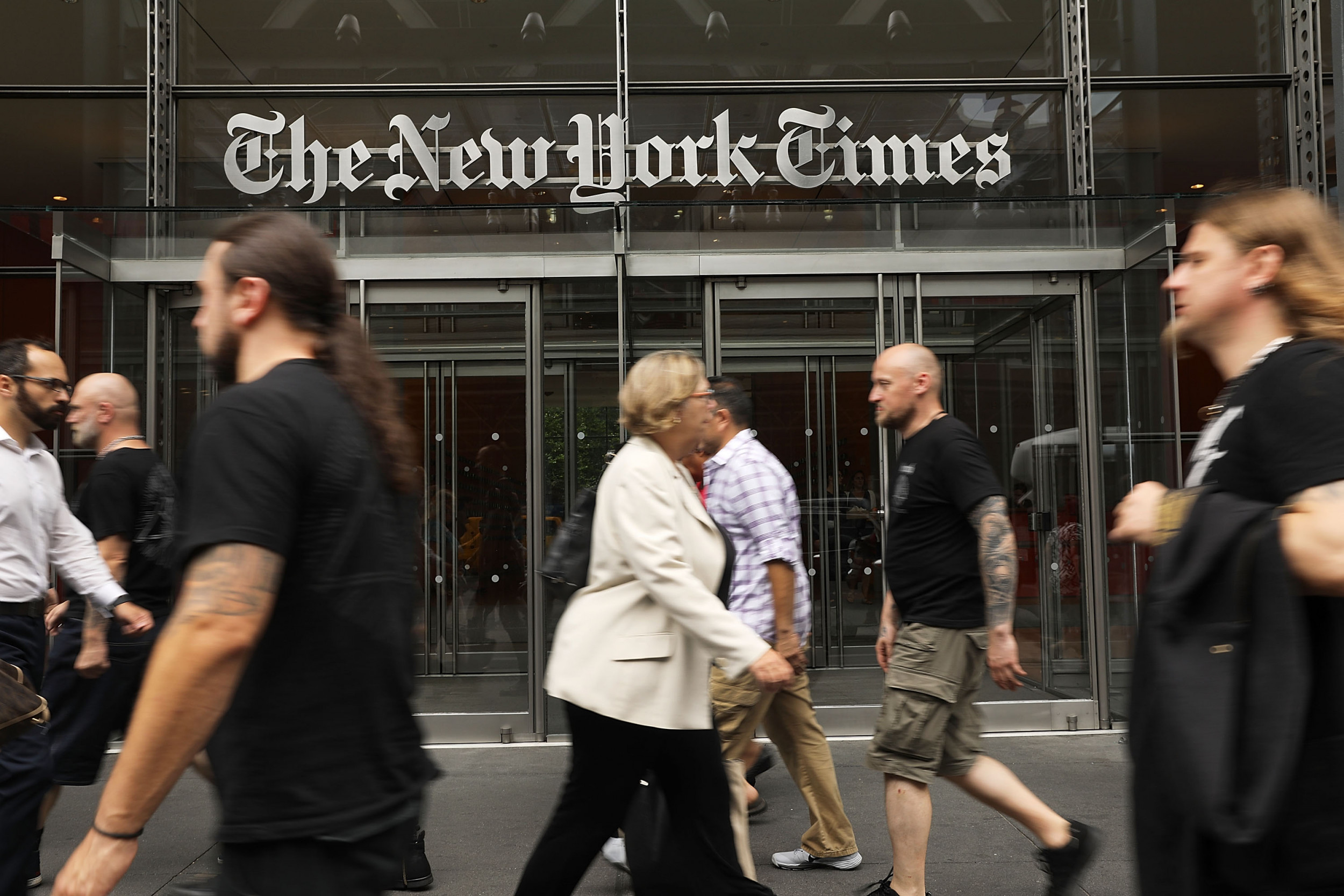 #CancelNYT Trends as Americans Slam the New York Times for Outing Trump Whistleblower as CIA Officer - Newsweek