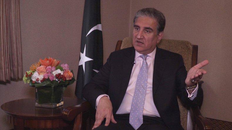 pakistan foreign minister qureshi kashmir