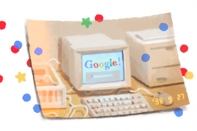 Google Doodle 21 Years