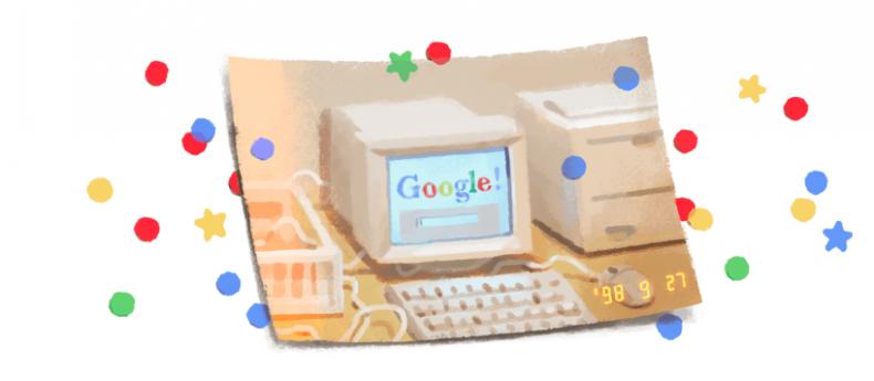 Google Doodle 21 Years