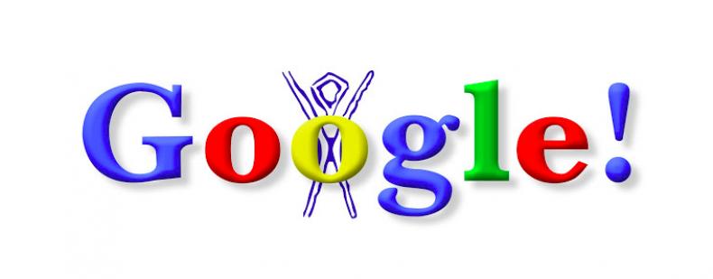Google Doodle Burning Man