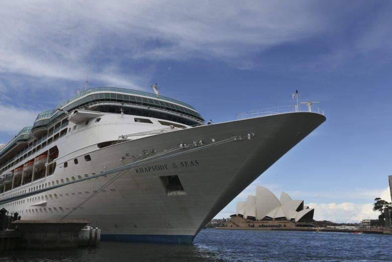 cruise ship Royal Caribbean rhapsody seas overboard