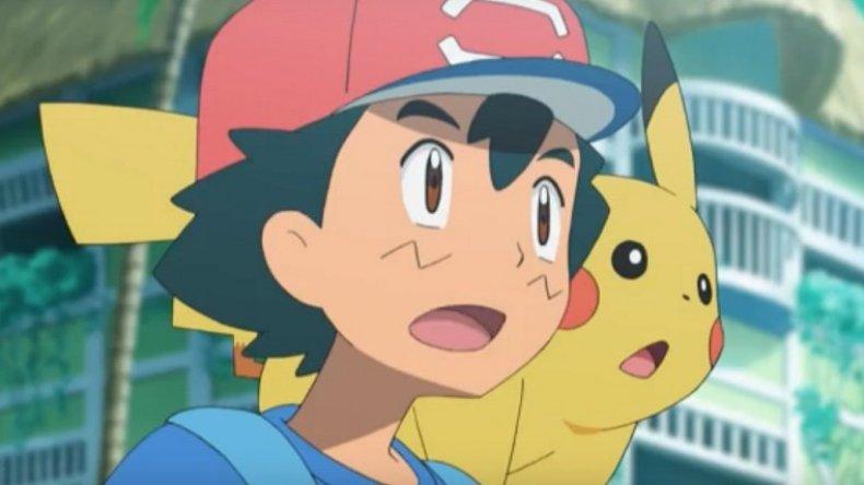 pokemon sun moon anime ash pikachu
