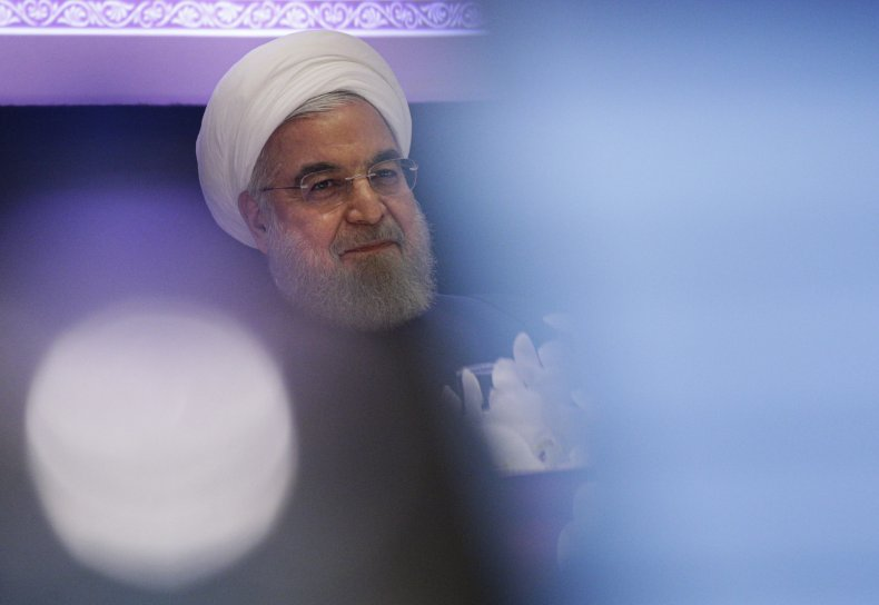 iran president hassan rouhani press conference