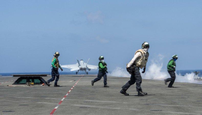 navy uss ronald reagan south china sea