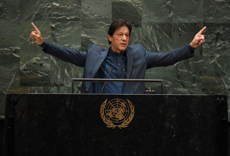 pakistan prime minister imran khan united nations