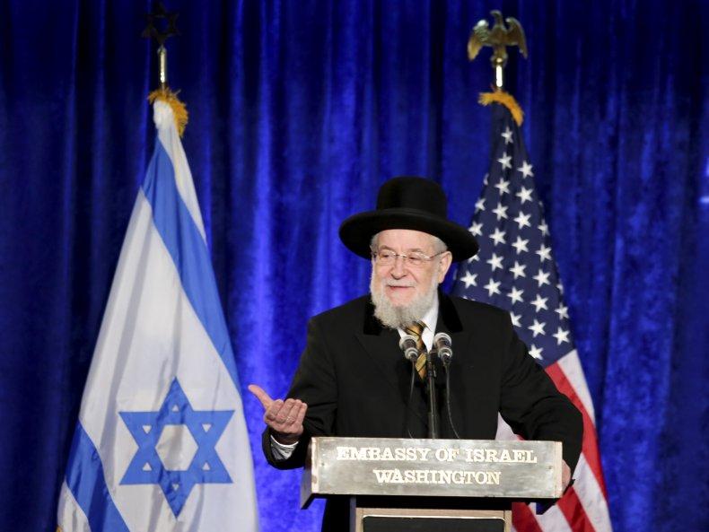 Rabbi Israel Meir Lau of Yad Vashem