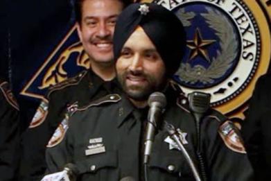Houston deputy Sandeep Dhaliwal